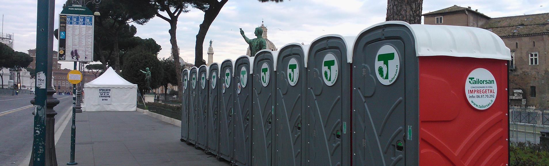 Slide bagni chimici maratona di roma tailorsan noleggio wc chimici - Noleggio bagni chimici firenze ...