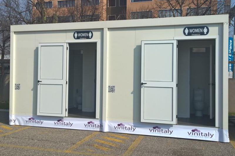 Monoblocco WC Twins - Tailorsan Noleggio WC Chimici