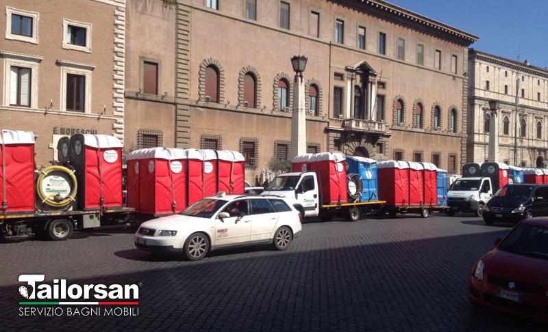 Bagni chimici tailorsan alla maratona di roma tailorsan - Noleggio bagni chimici firenze ...