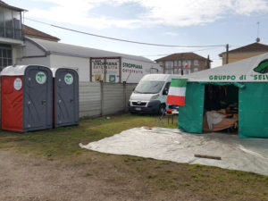 Adunata Alpini Asti 2016 Bagni Chimici