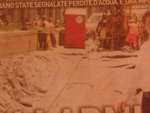 Crollo Lungarno Firenze