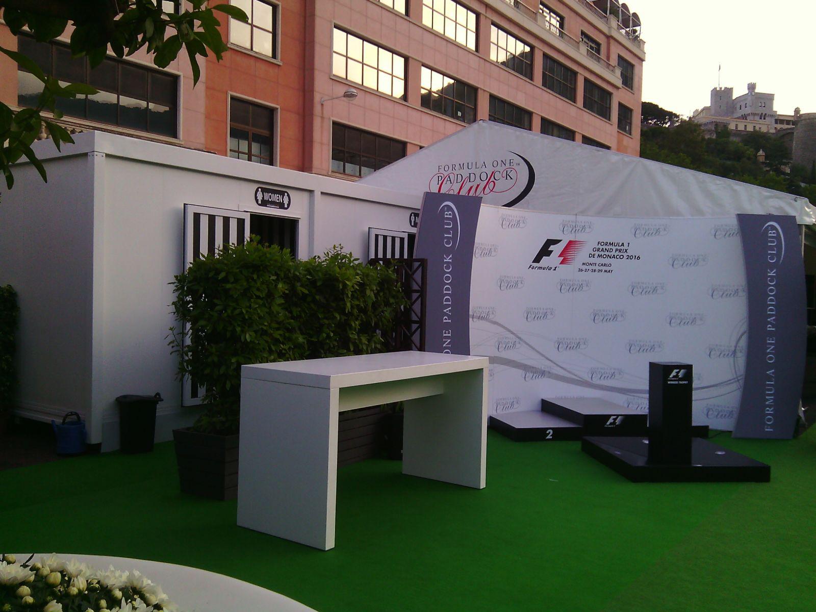 Mobili Di Lusso Veneto : Gran premio di montecarlo per le classtoilet tailorsan noleggio wc