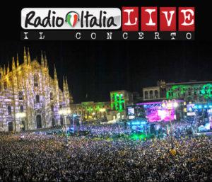 bagni chimici concerto radio Italia Piazza Duomo
