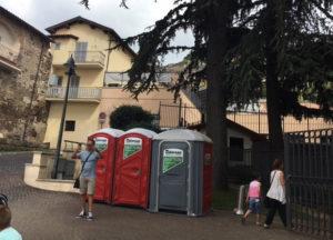 Bagni Chimici al Palio di Palestrina