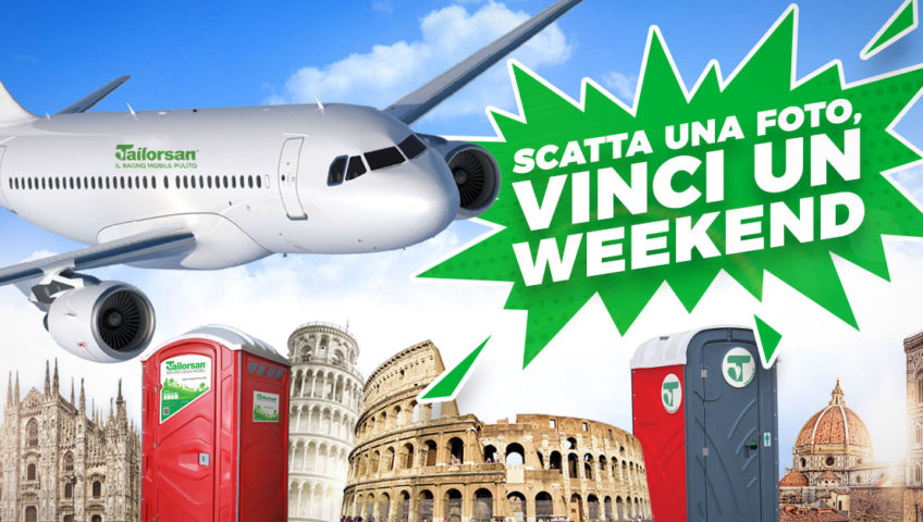 vinci un weekend