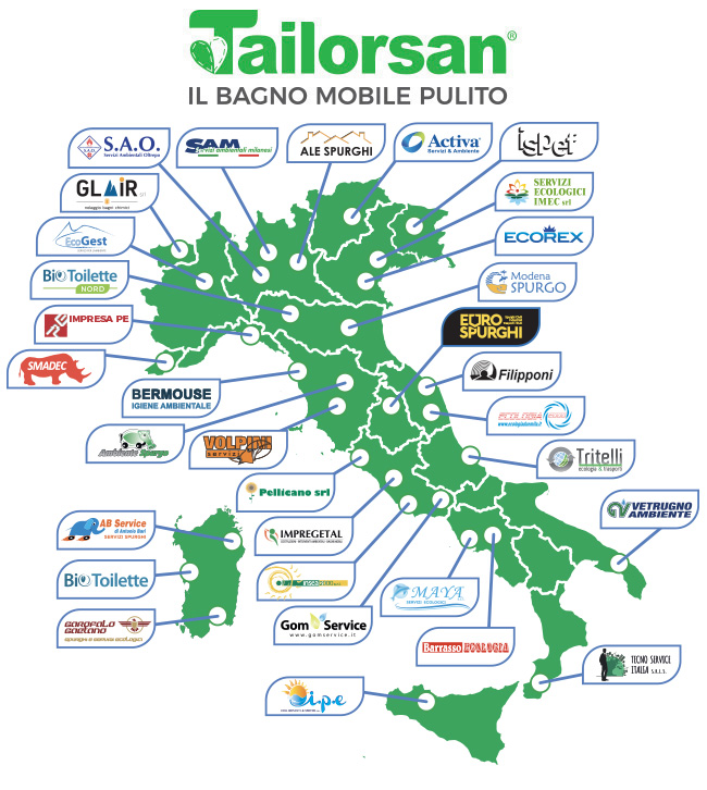 bagni chimici in italia